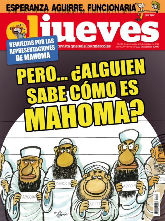 «Μα ξέρει κανείς πώς είναι ο Μωάμεθ;» αναρωτιέται ισπανικό πολιτικό περιοδικό