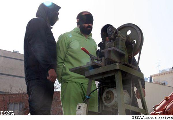 Μηχανή ακρωτηριασμού κλεφτών χρησιμοποιούν οι Αρχές του Ιράν