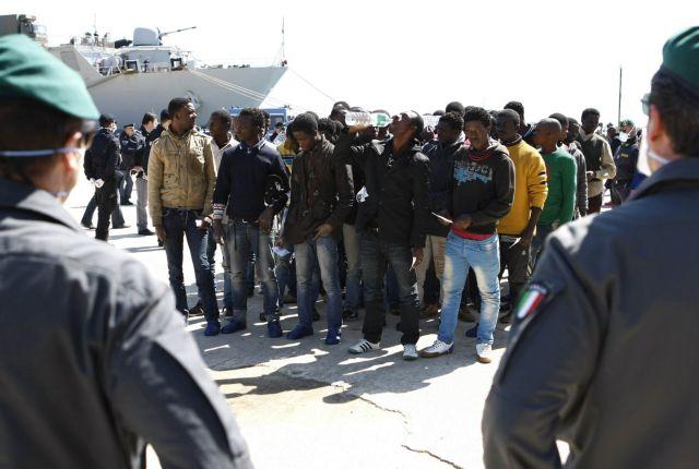 Ιταλία: Σώθηκαν 4.000 παράνομοι μετανάστες σε 48 ώρες