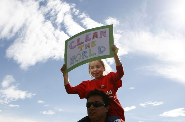 O πλανήτης ετοιμάζεται για τη «μεγαλύτερη πορεία» για το κλίμα