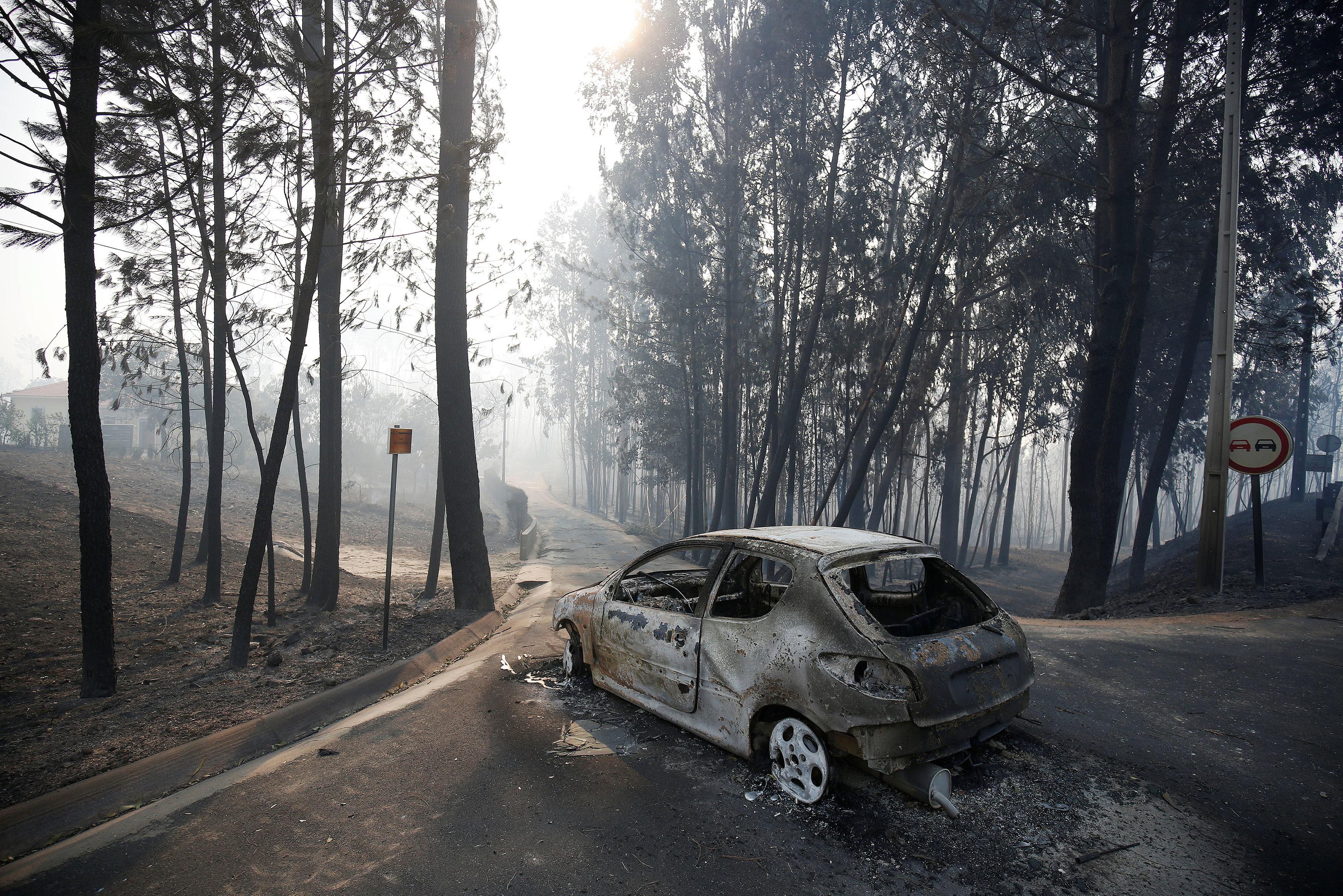 Tραγωδία στην Πορτογαλία: Δεκάδες νεκρούς αφήνουν πίσω τους οι πυρκαγιές