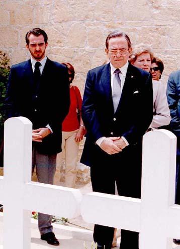 Στην Ελλάδα για την κηδεία του Γ.Τζιτζικώστα ο Κωνσταντίνος Γλύξμπουργκ