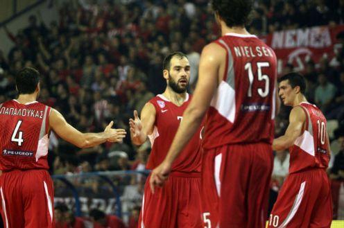 Ο Ολυμπιακός 85-57 τον Πανελλήνιο με κορυφαίους Σπανούλη-Μαυροκεφαλίδη
