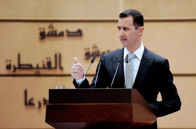 Γενική αμνηστία για όλα τα εγκλήματα από τον περασμένο Μάρτιο έδωσε ο Άσαντ