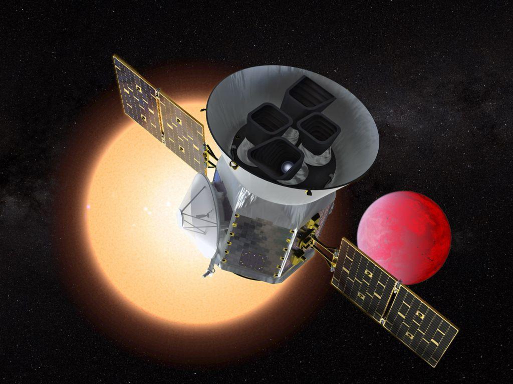 Εκτοξεύεται το νέο διαστημικό τηλεσκόπιο TESS