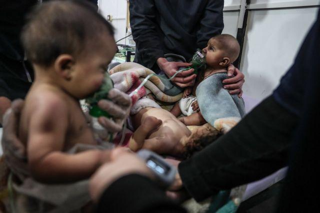 Βίντεο από τις τραγικές στιγμές των αμάχων στη Ντούμα
