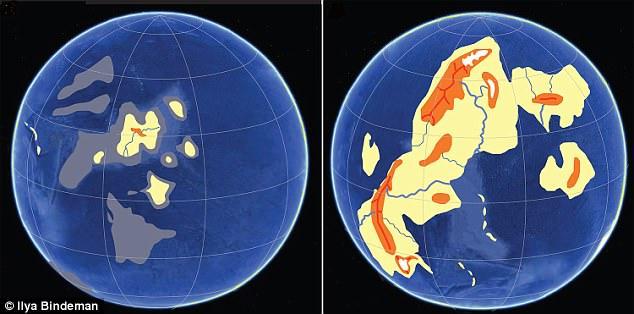 Όταν στη Γη υπήρχε μόνο νερό