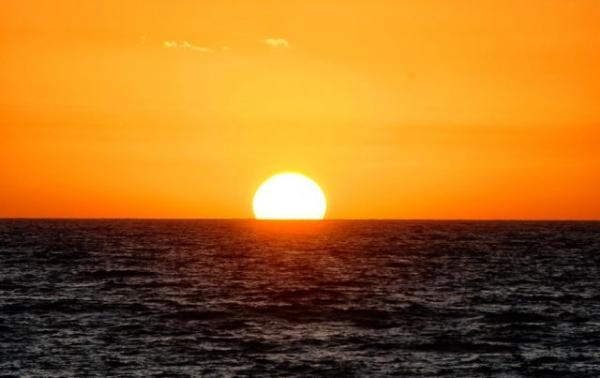 Κυπαρισσία, το μαγευτικό ηλιοβασίλεμα του Ιονίου