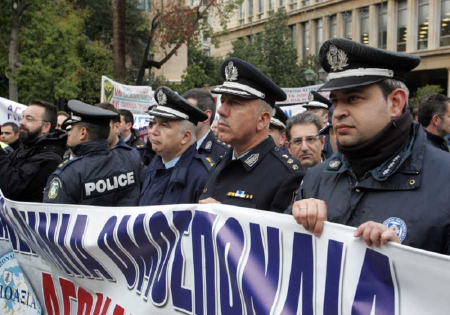 «Μπαράζ» κινητοποιήσεων από τους αστυνομικούς της Αττικής