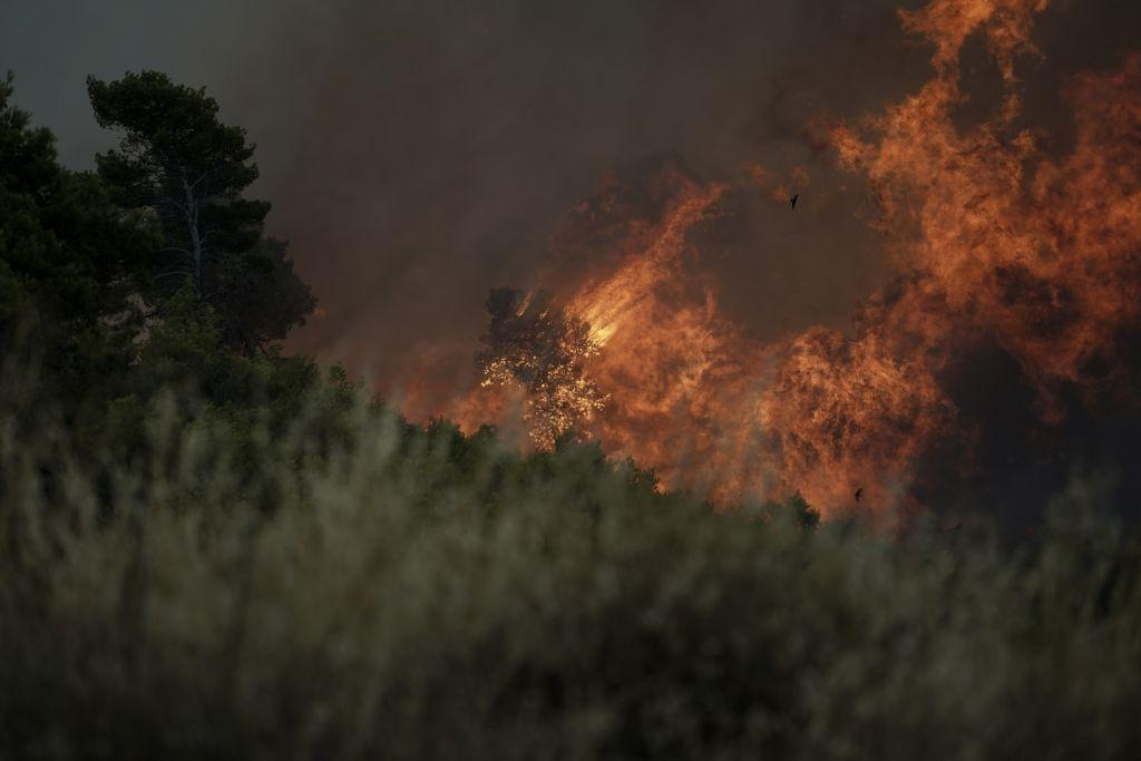 Ντοκουμέντο: Η στιγμή που ξεσπάει η φονική πυρκαγιά στην Αν. Αττική | in.gr