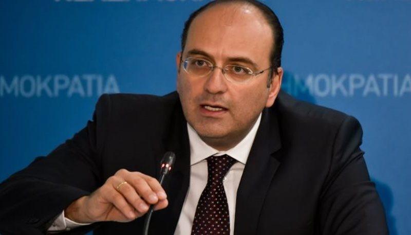 Λαζαρίδης : Η ΝΔ θα διαπραγματευτεί από την αρχή με τα Σκόπια