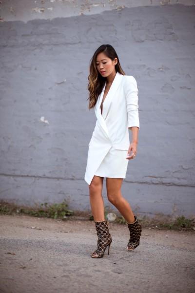 Χωρίς τοπ από μέσα ή με ένα μόνο πουκάμισο αυτή η τάση μπορεί να γίνει το  νέο «Μικρό Μαύρο Φόρεμα» 200c51a1d39