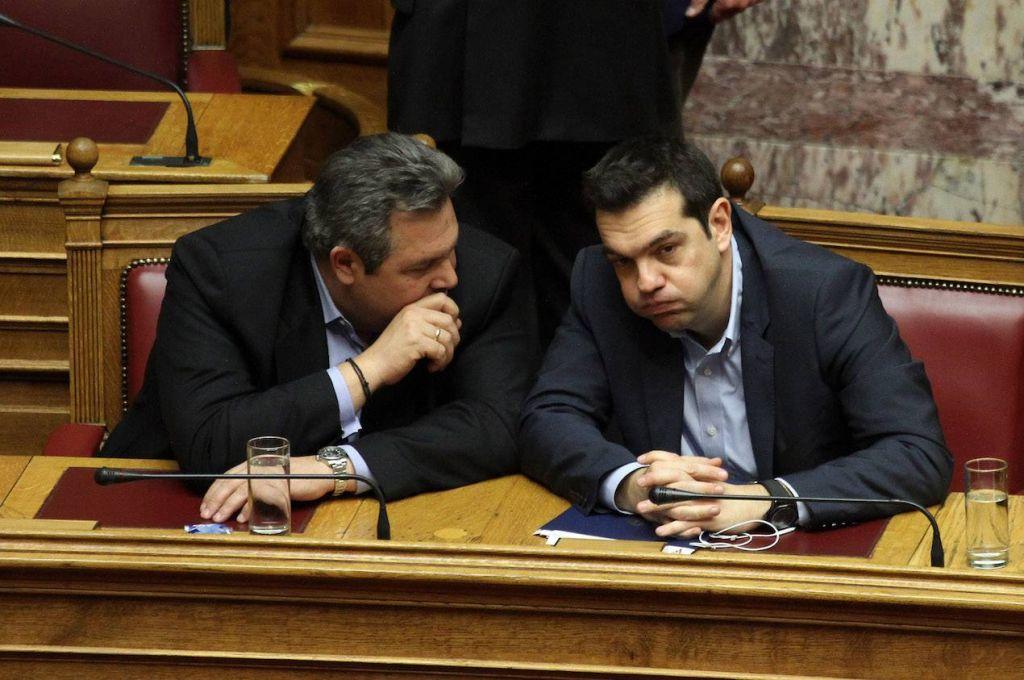 Παραδοχή Καμμένου: Ο Τσίπρας ήξερε για το Plan B για το «Μακεδονικό»