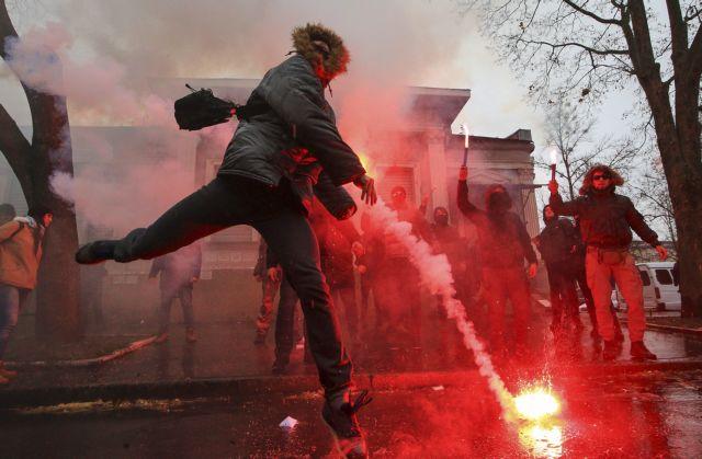 Επιθέσεις σε ρωσικά κτίρια στην Ουκρανία | in.gr