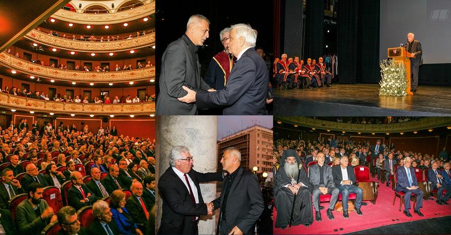 235f8f065d08 Με εντυπωσιακό τρόπο γιορτάστηκαν τα 80 χρόνια του Πανεπιστημίου Πειραιώς |  in.gr