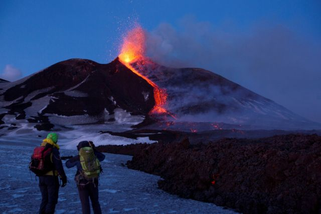 Αίτνα: Μειώνεται η δραστηριότητας του ηφαιστείου