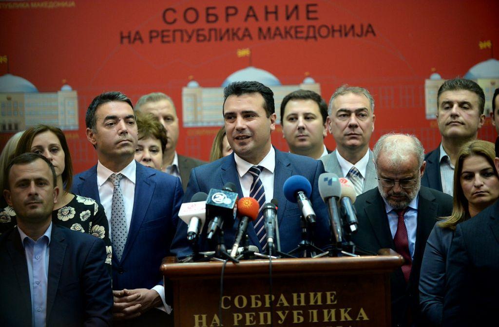 Εγκρίθηκε η Συμφωνία των Πρεσπών από τα Σκόπια | in.gr