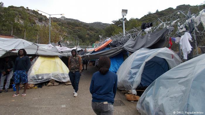 Κόλαση η ζωή των προσφύγων στη Σάμο