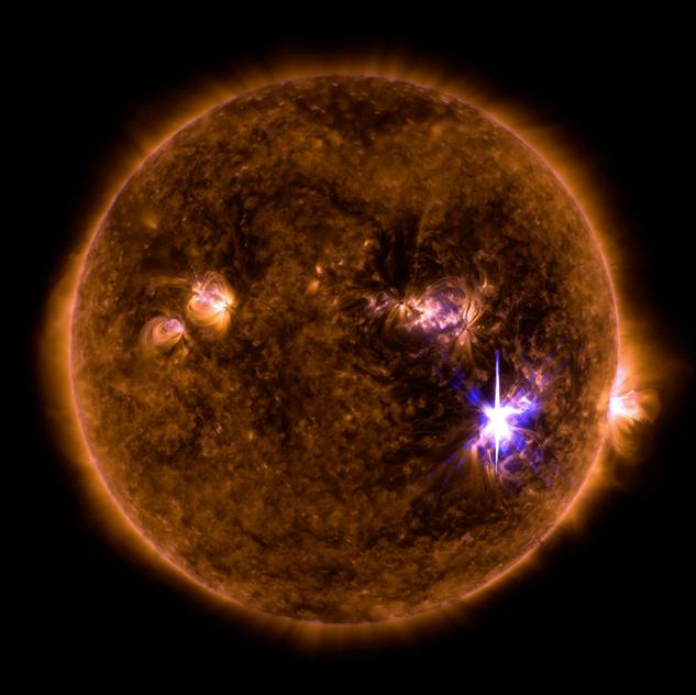 Μια γιγάντια ηλιακή καταιγίδα είχε πλήξει τη Γη το 660 π.Χ.