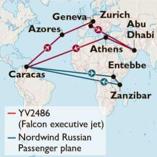 Δημοσίευμα – βόμβα από τους Times για το αεροσκάφος της Βενεζουέλας, αποκαλύπτει τι έκανε στην Ελλάδα