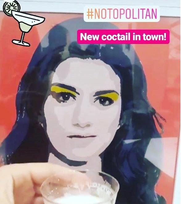Η Κατερίνα Νοτοπούλου κέρασε ανορθόγραφο «notopolitan»