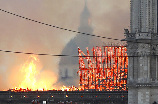 Παγκόσμιος θρήνος για την Παναγία των Παρισίων – Το χρονικό της καταστροφής   in.gr