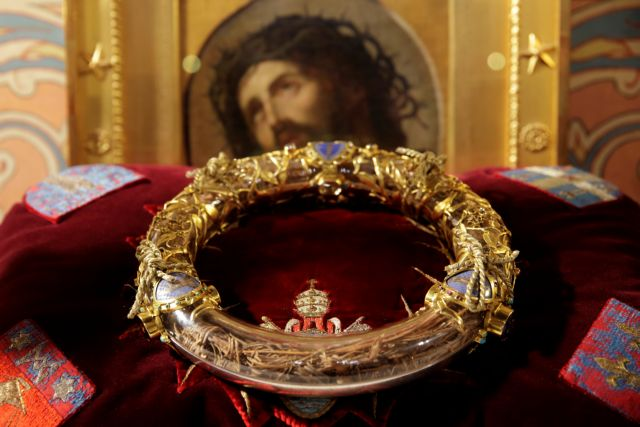 Σώθηκε το ακάνθινο στεφάνι του Χριστού – Η ιστορία του μοναδικού κειμηλίου | in.gr