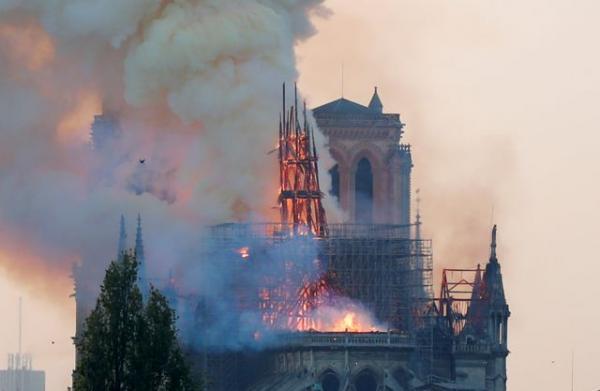 Παναγία των Παρισίων: Στο 1 δισ. οι δωρεές για την αποκατάσταση