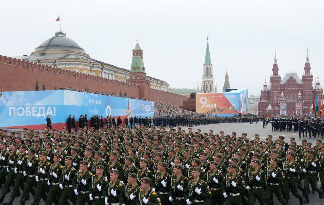 Η Ρωσία τιμά την Ημέρα της Νίκης επί των Ναζί με τη μεγάλη ...