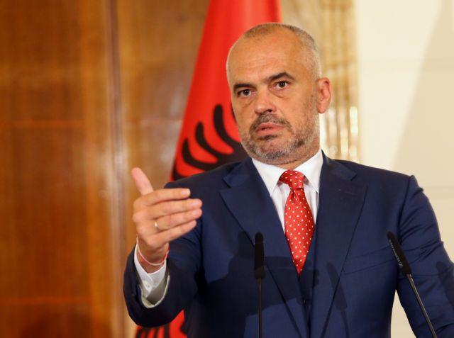 Ράμα : Οι Αλβανοί Κοσόβου και Αλβανίας είναι αδέλφια και πρέπει να ενωθούν
