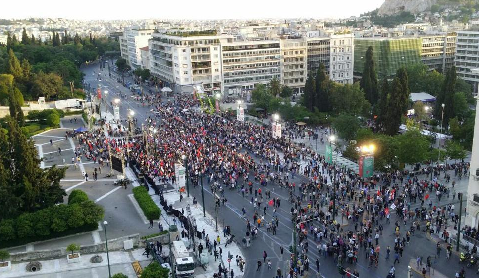 #Σύνταγμα: Πάρτι στο Twitter για την άδεια πλατεία στην ομιλία του Τσίπρα! (Εικόνες - Βίντεο)