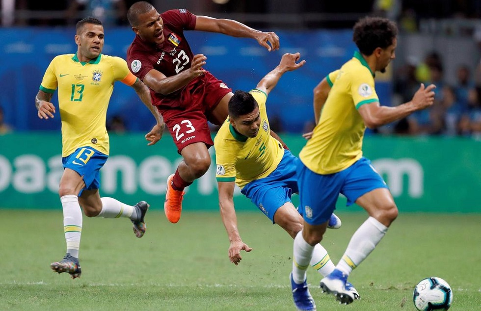 Πρόκριση για Βραζιλία και Βενεζουέλα στους «8» του Copa America