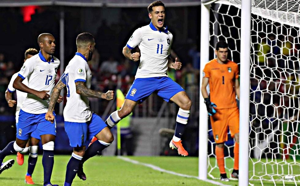 Βραζιλία – Βολιβία 3-0 [VIDEO]