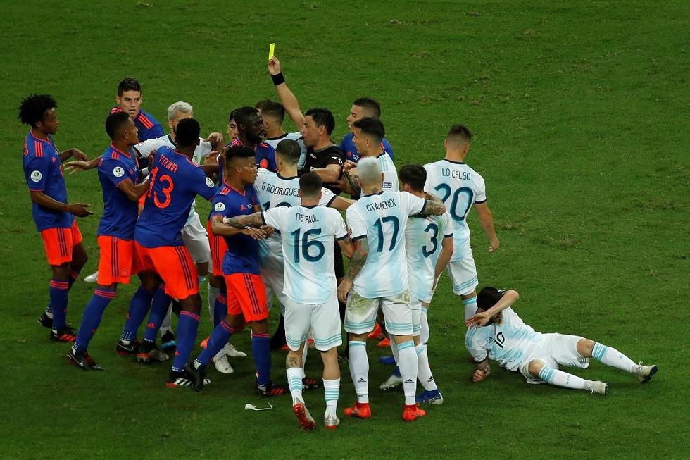 Κόπα Αμέρικα: Αργεντινή- Κολομβία 0-2