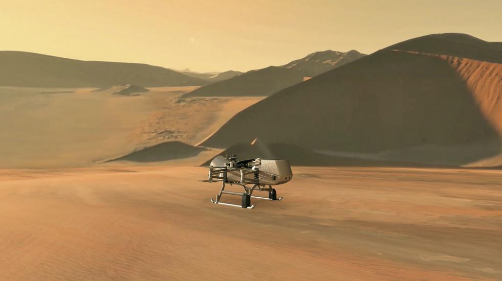 Η NASA αποφάσισε να στείλει στον Τιτάνα το Dragonfly
