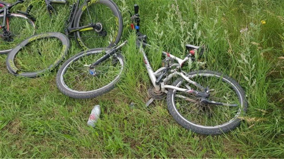 Πτολεμαΐδα: Πώς έγινε το δυστύχημα με τους δύο ποδηλάτες; (Φωτό)