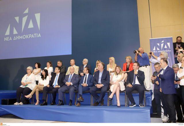 ΝΔ: Παρουσίαση ψηφοδελτίων Α' και Β' Θεσσαλονίκης