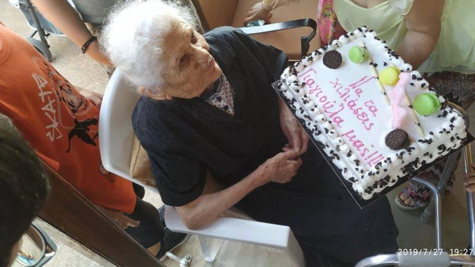Ηλεία: Η γηραιότερη Ελληνίδα διεκδικεί το δικό της ρεκόρ Γκίνες | in.gr