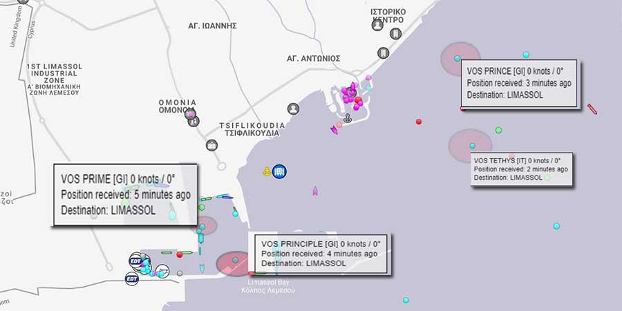 Θρίλερ στην Κύπρο : Στο λιμάνι της Λεμεσού υποστηρικτά πλοία του Γιαβούζ