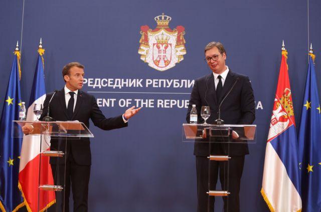 Συμβιβασμό για το Κόσοβο ζήτησε ο Μακρόν από το Βελιγράδι! (Εικόνες)