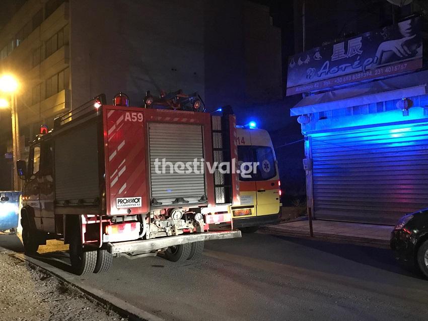 Θεσσαλονίκη: Πτώση γυναίκας από τον 2ο όροφο στον φωταγωγό! (Εικόνες - Βίντεο)