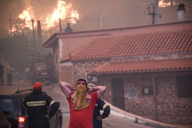 Φωτιά στην Εύβοια: Οι φωτογραφίες της φρίκης | in.gr