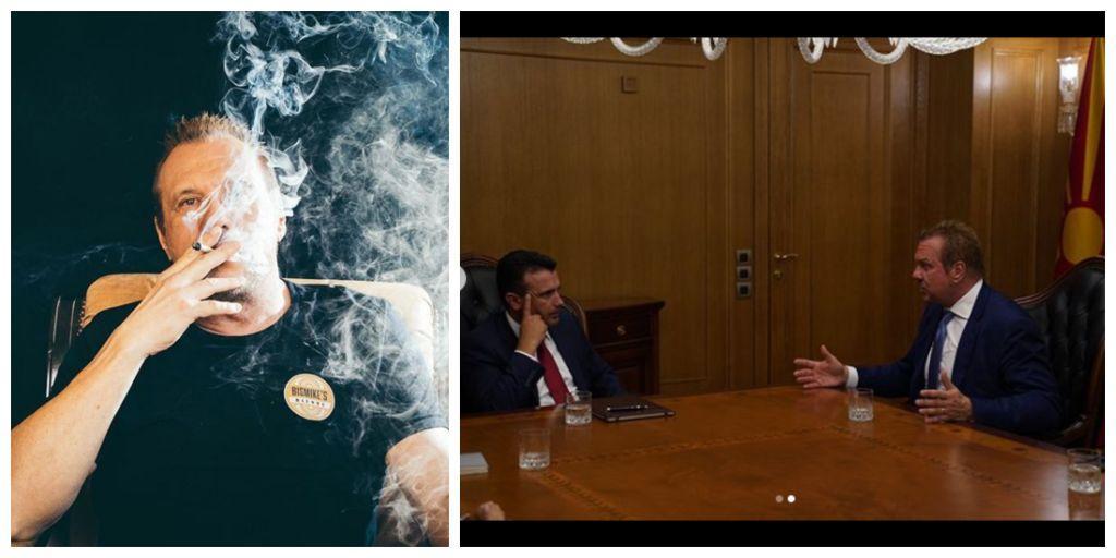 Τι κρύβει η σιωπηρή… συνάντηση του Ζάεφ με τον βασιλιά της μαριχουάνας | in.gr