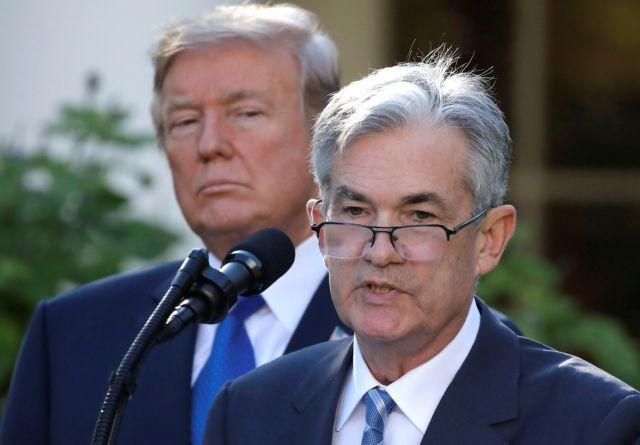 Νέα σφοδρή επίθεση του Ντόναλντ Τραμπ στην Fed και τον πρόεδρό της!