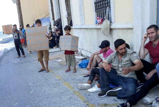 Σύμη : Αποχώρηση προσφύγων από το νησί