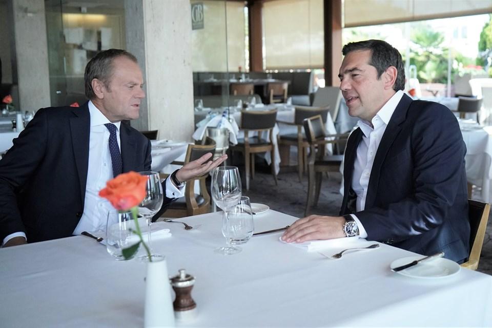 Γεύμα Τσίπρα – Τουσκ : Συζήτησαν για Τουρκία, προσφυγικό και Brexit
