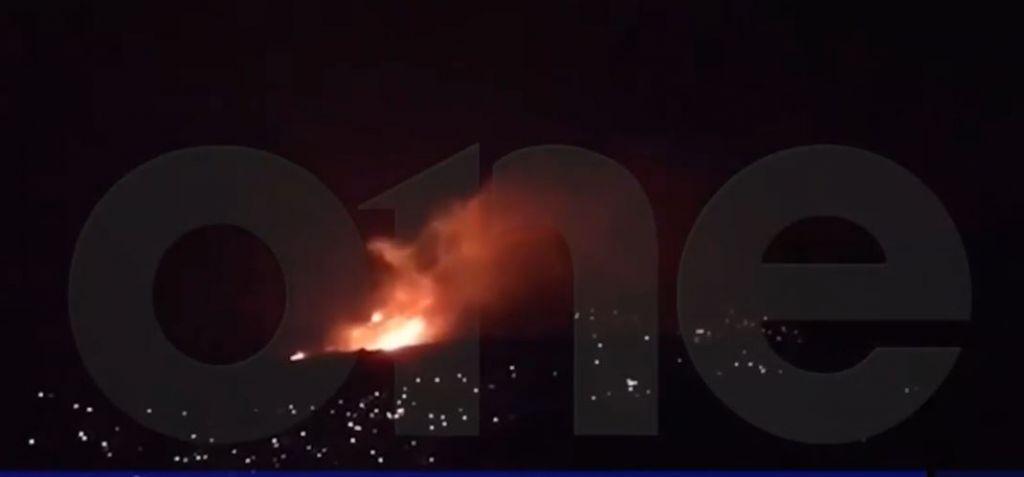 Αποκλειστικά πλάνα του One Channel από τη φωτιά στο Πόρτο Ράφτη... (Βίντεο)