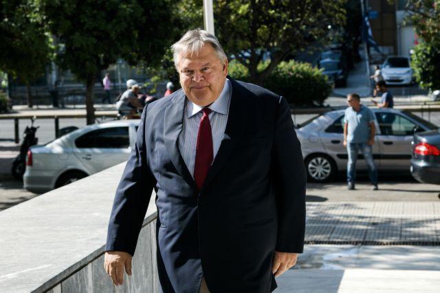 Βενιζέλος : Μη νόμιμο το αίτημα για άρση ασυλίας του Λοβέρδου