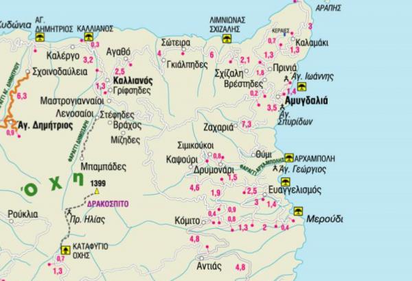 Νότια Εύβοια: Στη γη του Καβοντόρου