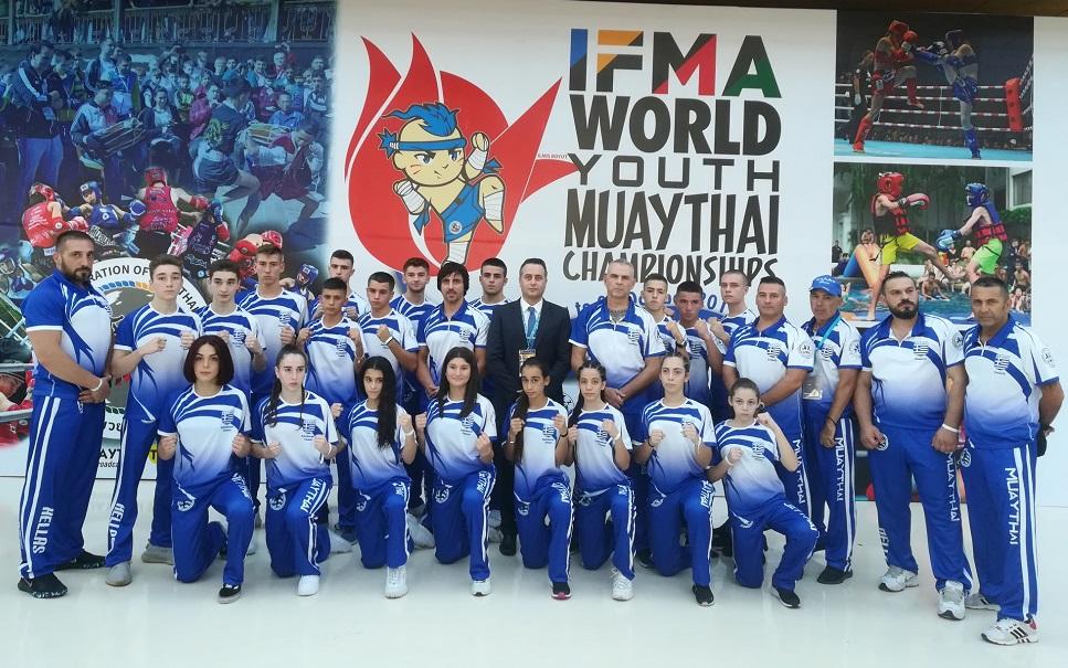 Εθνική Muay Thai : Έξι μετάλλια στο παγκόσμιο